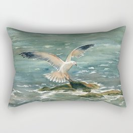 Seagull Rectangular Pillow