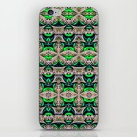 bamboo iPhone & iPod Skins featuring Bamboo by Zandonai Pattern Designs