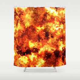 Light of the Sun Shower Curtain