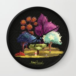 Robin Hood! The Forest. Wall Clock