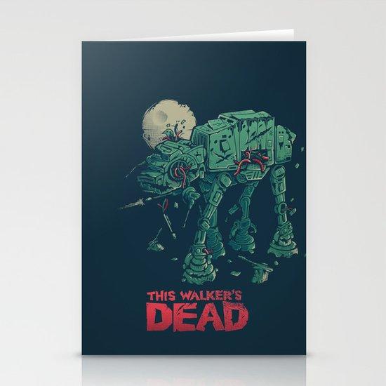 Walker's Dead Stationery Cards