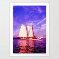 Majestic Sailboat Art Print