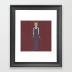 Showdown (Tigerlily) Framed Art Print