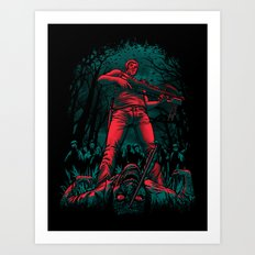 Hunter Art Print