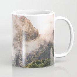 Misty Kazbkek Mounain, landscape,Georgia Coffee Mug