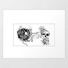 dreams are made of this Art Print