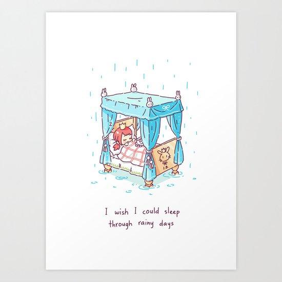 Rainy Days 2 Art Print