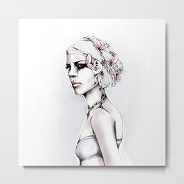 She's Insanity Metal Print