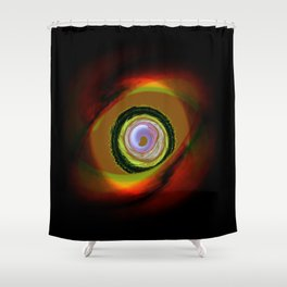 Feral Point of View Shower Curtain