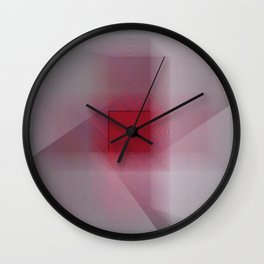 Red Cross Wall Clock