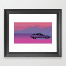 To Nowhere Framed Art Print