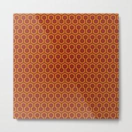 The Overlook Hotel Carpet Metal Print