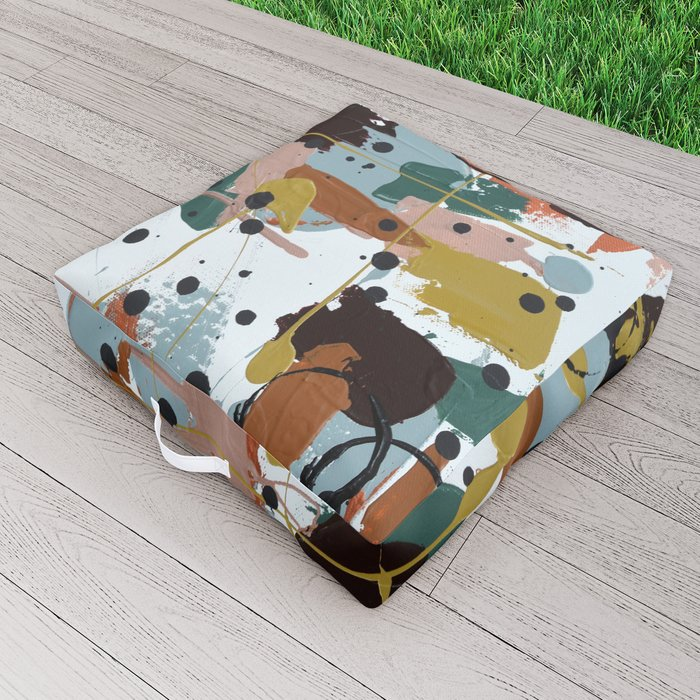 Vineyard Outdoor Floor Cushion