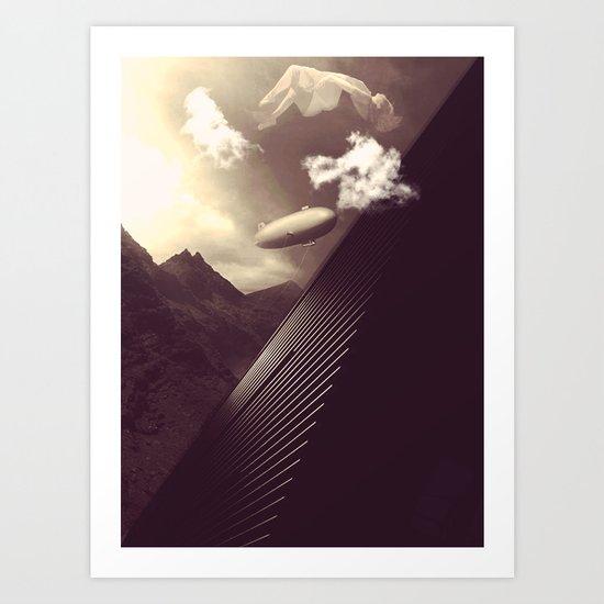 Imagination Un-interrupted  Art Print