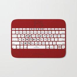 Photoshop Keyboard Shortcuts Red Bath Mat