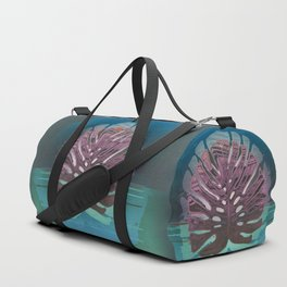Monstera Queen of the Night Duffle Bag