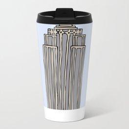 Empire State Bldg. NY Metal Travel Mug