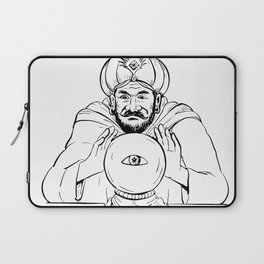 Fortune Teller Crystal Ball Drawing Laptop Sleeve