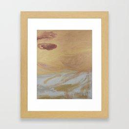 Heavens Golden Gate Framed Art Print