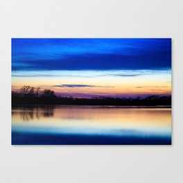 Almost after dark Canvas Print