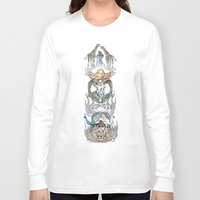 wild things Long Sleeve T-shirts featuring Wild Things by Carley Lee