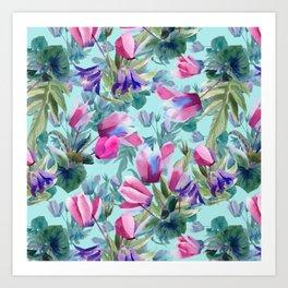 """""""Summer flowers"""" Art Print"""