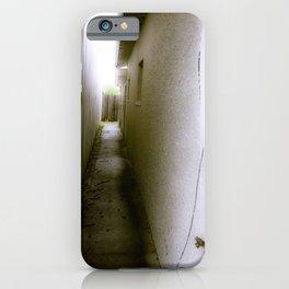 Narrow Alleyway iPhone Case