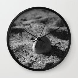 Strength and Shadows Wall Clock