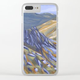 A view of Snowdonia Clear iPhone Case