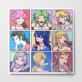 SSB4 Girls - Summer Munchies Metal Print
