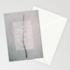 enjoy the simple things Stationery Cards