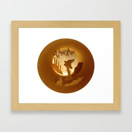 Far North. Owl (Grand Nord. Chouette) Framed Art Print