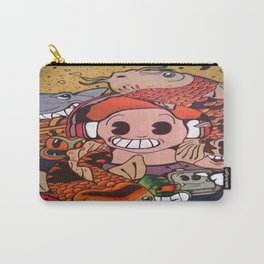 Mixed Doodle Carry-All Pouch