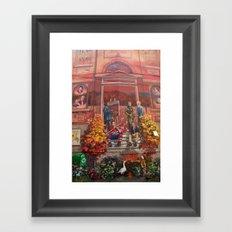 Art à Victoriaville - Très belle #fresque Framed Art Print