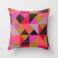 colour + pattern 19 Throw Pillow