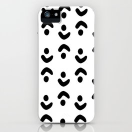 Abstract minimalistic art iPhone Case