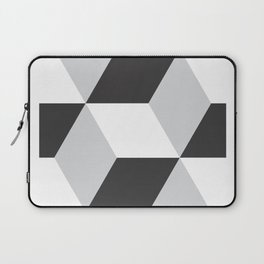 Cubism Black and White Laptop Sleeve