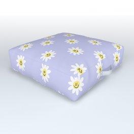 Trippy Daisy Outdoor Floor Cushion