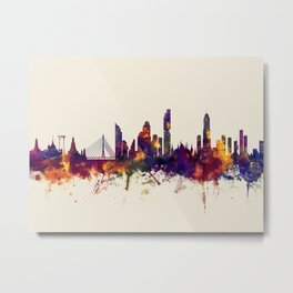 Bangkok Thailand Skyline Metal Print