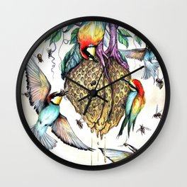 Heart Eater Wall Clock