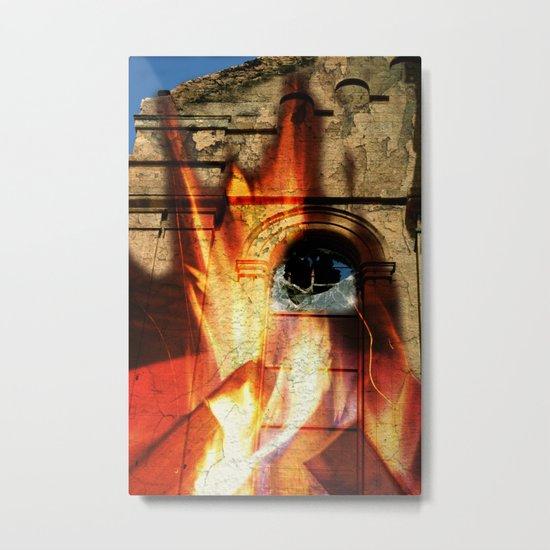 Burning Down the House  Metal Print