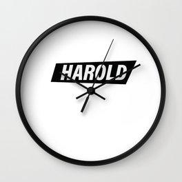 Harold Wall Clock