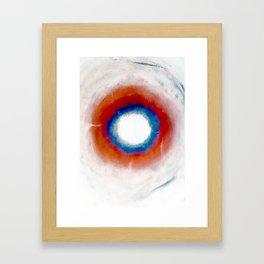 Cosmic Void Black Hole 2 Framed Art Print