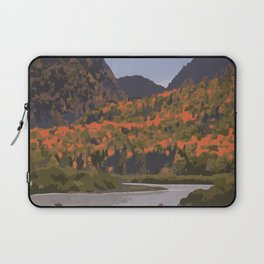 La Mauricie National Park Poster, Quebec Laptop Sleeve