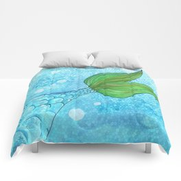 Mysterious Mermaid Comforters