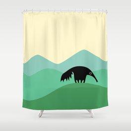 Anteater Hills Shower Curtain