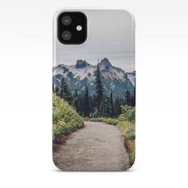 Mount Ranier Landscape iPhone Case