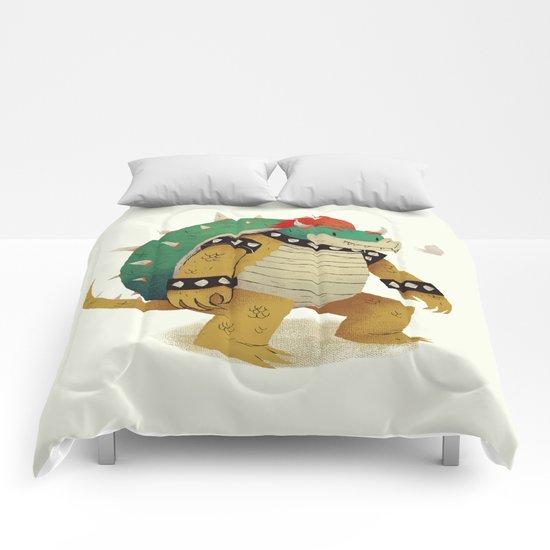 so long ke bowser Comforters
