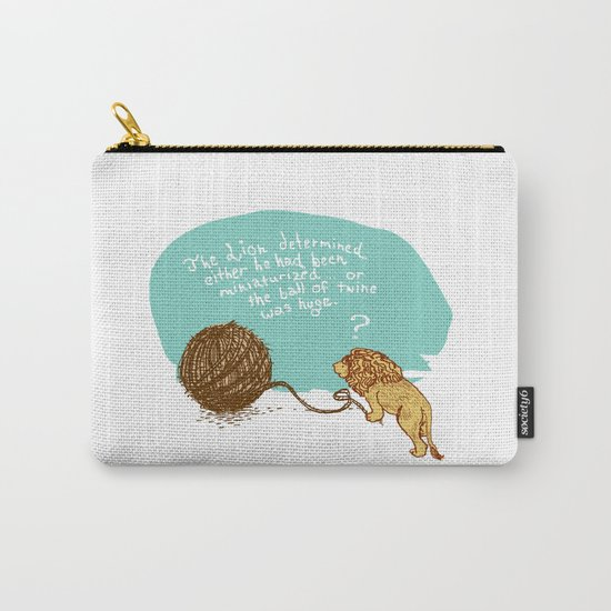 Unethical Mind Experiments on Miniaturized Animals Carry-All Pouch