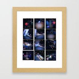 Break 1 Framed Art Print